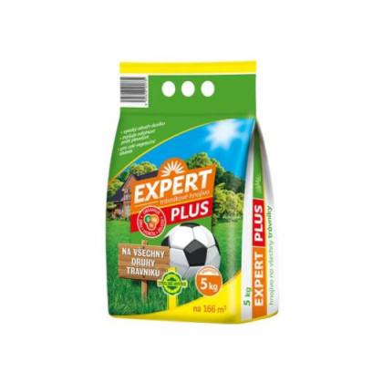 EXPERT Trávnikové hnojivo - Granule - Všetky druhy trávnikov - 5 kg