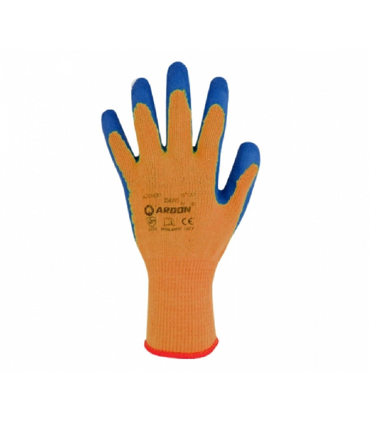 Pracovné rukavice Davis - veľkosť 8 - 1 pár